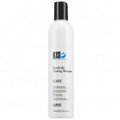 Kis KERASCALP HEALING Кератиновый балансирующий шампунь для чувствительной кожи головы и сухих волос 300 мл