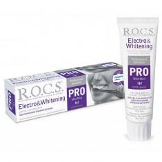 Рокс зубная паста PRO Electro & Whitening для использования с электрическими зубными щетками 135г ROCS