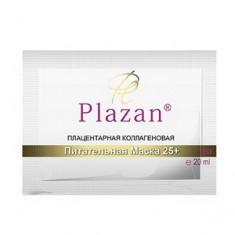 Плацентарная коллагеновая питательная маска 25+, 1 шт. (Plazan)