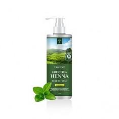 Шампунь с зеленым чаем и хной для волос, 1000 мл (Deoproce)