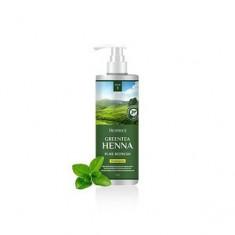 Обновляющий шампунь с хной и зеленым чаем для волос, 200 мл (Deoproce)