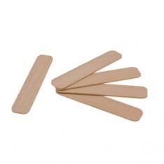 Медицинские шпатели деревянные одноразовые в индивидуальной упаковке, 100 шт. (R-cosmetics)