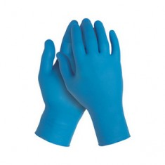 Перчатки нитриловые, фиолетовые, 100 шт., XL (Чистовье) ЧИСТОВЬЕ