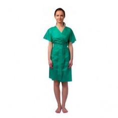 Халат-кимоно без рукавов, зеленый, 10 шт. (Чистовье) ЧИСТОВЬЕ