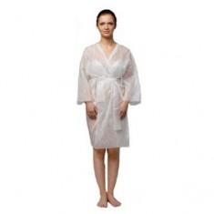 Халат-кимоно с рукавами, белый, 5 шт. (Чистовье) ЧИСТОВЬЕ
