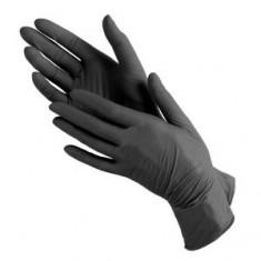 Перчатки нитриловые, черные, 100 шт., S (Чистовье) ЧИСТОВЬЕ