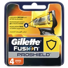Кассеты для станка GILLETTE FUSION PROSHIELD 4 шт