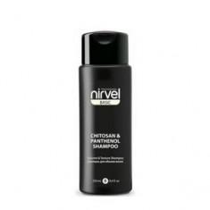 Шампунь с хитозаном и пантенолом для объема тонких и безжизненных волос, 250 мл (Nirvel)