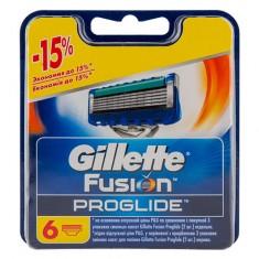 Кассеты для станка GILLETTE FUSION PROGLIDE 6 шт