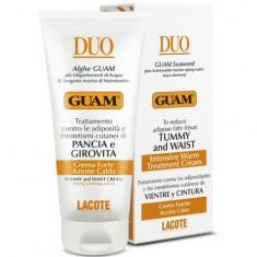 Гуам (Guam) Крем для живота и талии с разогревающим эффектом DUO 150 мл