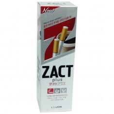 Лион зубная паста ZACT plus удаление никотинового налета и устранение запаха 150г LION