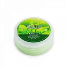 крем для лица и тела с зеленым чаем deoproce natural skin greentea nourishing cream