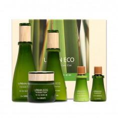 набор уходовый с экстрактом льна the saem urban eco harakeke skin care 3 set