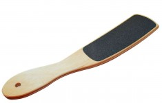 STALEKS Терка деревянная изогнутая для стоп ТД-02 100/180