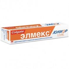 Elmex Зубная паста Юниор 75мл для детей от 6 до 12 лет