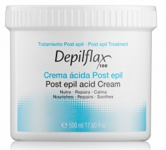 DEPILFLAX 100 Сливки после депиляции / Post Epil Acid Cream 500 мл