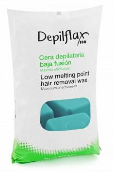 DEPILFLAX 100 Воск горячий в брикетах, азуленовый 1000 г