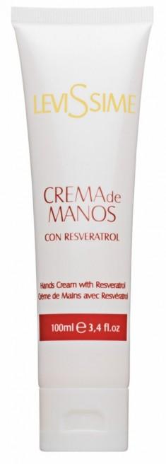 LEVISSIME Крем с ресвератролом для рук / Hands Cream with Resveratrol 100 мл