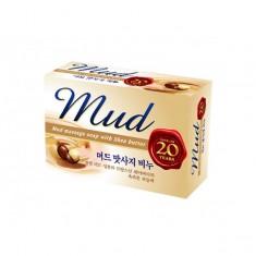 мыло с эффектом массажа mukunghwa mud massage soap