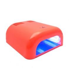 Planet Nails, Лампа UV Tunnel Econom, 36W, коралловая (электронная)