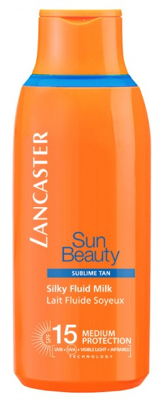 LANCASTER Молочко легкое Великолепный загар SPF 15 / Sun Beauty Care 175 мл