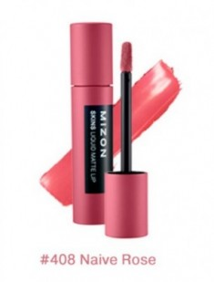 Помада матовая жидкая MIZON Skins Liquid Matte Lip №408 Naive Rose