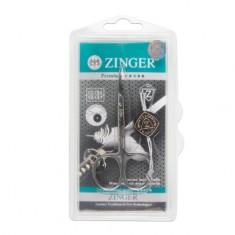Zinger, Ножницы маникюрные Salon BS-308-S, загнутые узкие
