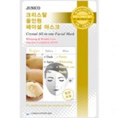 маска тканевая c аргановым маслом mijin junico crystal all-in-one facial mask argan