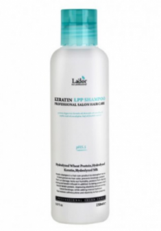 Шампунь для волос с аминокислотами LA'DOR Keratin LPP shampoo 150 мл La'dor