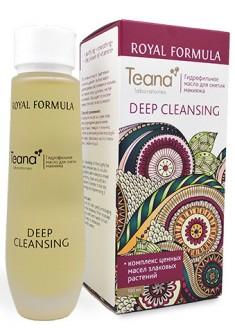 TEANA Масло гидрофильное для снятия макияжа / DEEP CLEANSING ROYAL FORMULA 100 мл