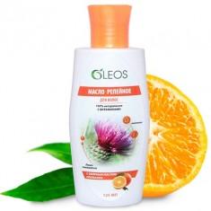 Олеос масло репейное косметическое с эфирным маслом апельсина 125мл Oleos