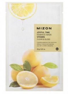 Тканевая маска с витамином С MIZON Joyful time essence mask vitamin С 23г