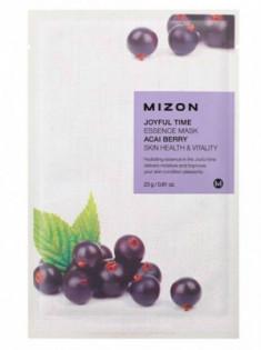 Тканевая маска с ягодами ассаи MIZON Joyful time essence mask acai berry 23г