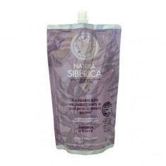 Натура сиберика Бальзам для окрашенных и поврежденных волос Защита и блеск 500 ml NATURA SIBERICA