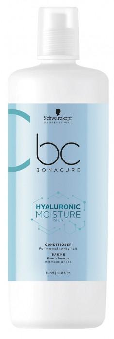 SCHWARZKOPF PROFESSIONAL Кондиционер увлажняющий для волос / BC Hyaluronic Moisture Kick 1000 мл