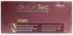 DIKSON Средство ампульное при любой щелочной обработке волос / SETAMYL 12*12 мл