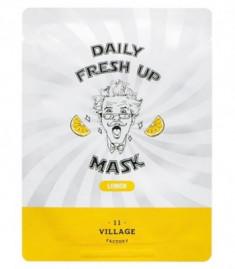 Маска с экстрактом лимона VILLAGE 11 FACTORY Daily Fresh up Mask Lemon 20г