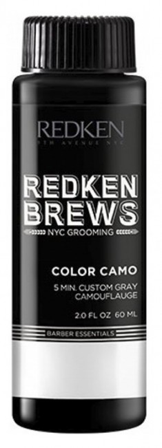 REDKEN 7NA краска без аммиака для волос, светлый пепельный Брюс колор, для мужчин / REDKEN BREWS 60 мл