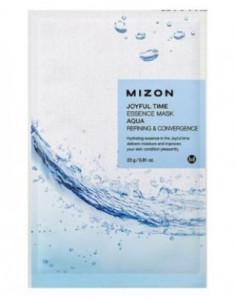 Тканевая маска с морской водой MIZON Joyful Time Essence Mask Aqua 23г