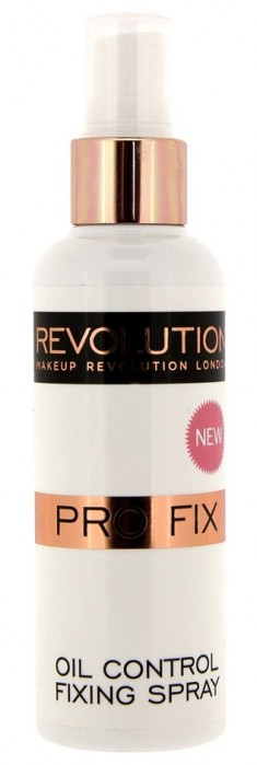 MAKEUP REVOLUTION Спрей для фиксации макияжа / OIL CONTROL FIXING SPRAY