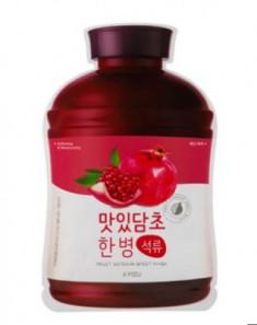 Тканевая маска с экстрактом граната A'PIEU Fruit Vinegar Sheet Mask Pomegranate 20мл