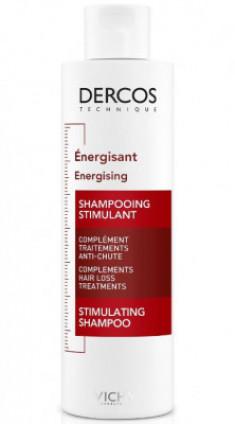 Шампунь тонизирующий против выпадения волос VICHY DERCOS AMINEXIL 200мл