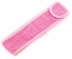 IGROBEAUTY Повязка махровая для волос, цвет розовый