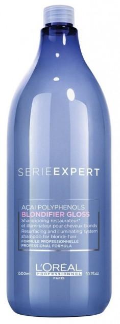 L'OREAL PROFESSIONNEL Шампунь для сияния осветленных и мелированных волос / Blondifier Gloss 1500 мл LOREAL PROFESSIONNEL