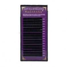 NAGARAKU, Ресницы на ленте Natural Mink, 9/0,07 мм, D-изгиб
