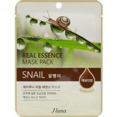 Тканевая маска с улиткой Juno Real Essence Mask Pack Snail 25мл