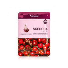Маска с экстрактом ацеролы FarmStay Visible Difference Mask Sheet Acerola 23мл