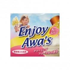 Awa's Enjoy Порошок стиральный с кондиционером с цветочным ароматом,900 гр