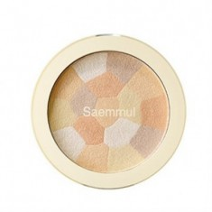 Хайлайтер минеральный THE SAEM Saemmul Luminous Multi Highlighter 02. Gold Beige 8гр