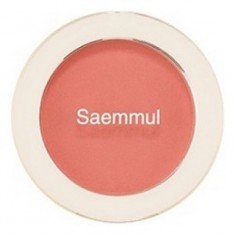 Румяна THE SAEM Saemmul Single Blusher CR03 Sunshine Coral 5гр
